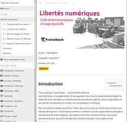 Libertés numériques · GitBook