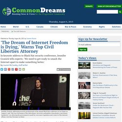 'The Dream of Internet Freedom is Dying,' Warns Top Civil Liberties Attorney