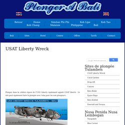 USAT Liberty Wreck a Bali -bali.croisiere-et-plongee.com/