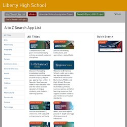 Liberty High School - Gale Pages
