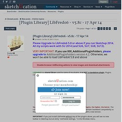 [Plugin Library] LibFredo6 - v4.2a - 16 Sep 11
