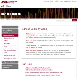 Top Banned Books - Banned Books - LibGuides at Arizona State University