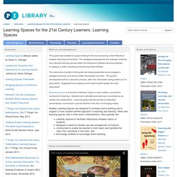 Learning Spaces - Learning Spaces for the 21st Century Learners - LibGuides at Petroleum Institute