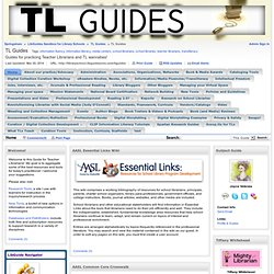 Home - TL Guides - Library School Sandbox at Masters Programs in Library & Information Science