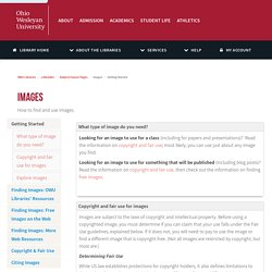 Getting Started - Images - LibGuides at Ohio Wesleyan University Libraries