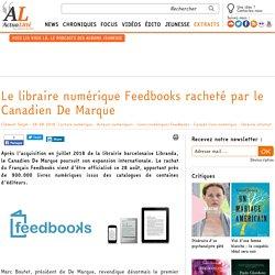 Le libraire numérique Feedbooks racheté par le Canadien De Marque