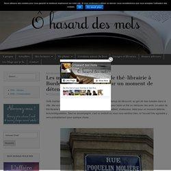 Les mots bleus : un salon de thé-librairie à Bordeaux très agréable pour un moment de détente - Ô hasard des mots