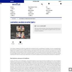 Librairie Mollat Bordeaux - L'antihéros, un héros de notre temps 1