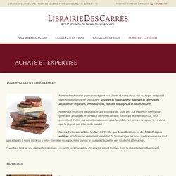 Librairie des Carrés - Achats et expertise