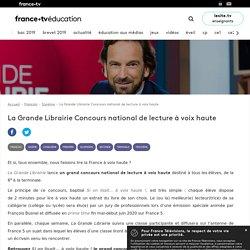 La Grande Librairie Concours national de lecture à voix haute - Dossier - France tv Éducation