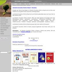 Librairie Courants d'Arts à Revel - Horaires