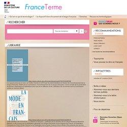 Librairie / FranceTerme