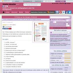 Librairie-Interactive - 13 fiches sur les dangers d'Internet