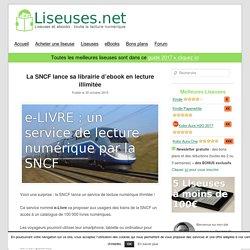 La SNCF lance sa librairie d'ebook en lecture illimitée