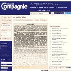 Librairie Compagnie - Une librairie de littérature générale au coeur du Quartier Latin entre le musée de Cluny et la Sorbonne