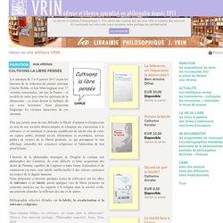 Librairie Philosophique J. VRIN