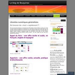 Librairies numériques généralistes