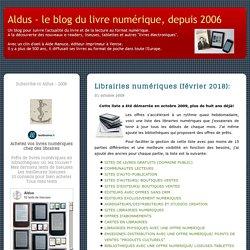 Librairie numérique (novembre 2011):