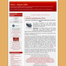 Librairie numérique (mai 2012):