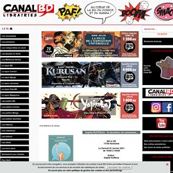 Portail CANAL BD des librairies spécialisées en bandes dessinées