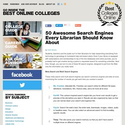 50 Awesome Search Engines Every Librarian