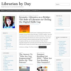Librarian by Day | Bobbi L. Newman
