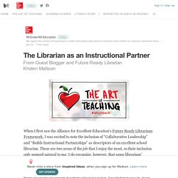 The Librarian as an Instructional Partner – Inspired Ideas – Medium