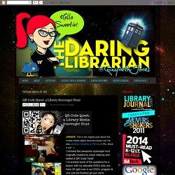 QR Code Quest: a Library Scavenger Hunt