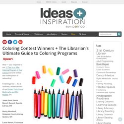 The Librarian's Ultimate Guide to Coloring Programs