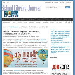 School Librarians Explore Their Role as Education Leaders