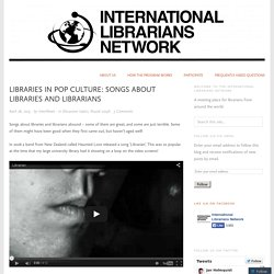 Libraries in pop culture: songs about libraries and librarians