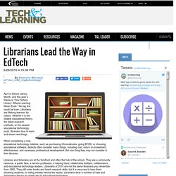 Librarians Lead the Way in EdTech
