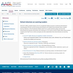 School Librarians as Learning Leaders