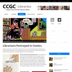 » Librarians Portrayed in Comics
