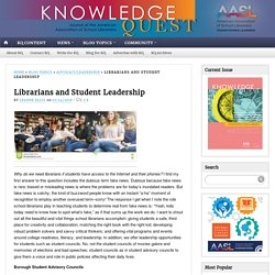 Librarians and Student Leadership