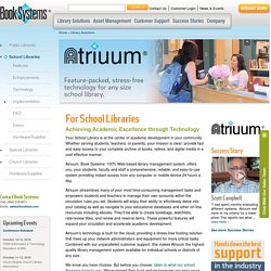 Atrium Book Systems Library Automation Software