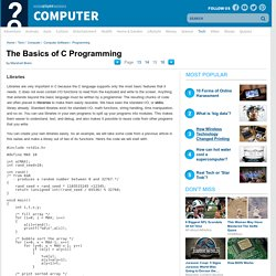 The Basics of C Programming""