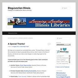 Growing Greener Libraries