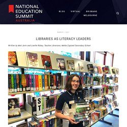 Libraries as Literacy Leaders — National Education Summit