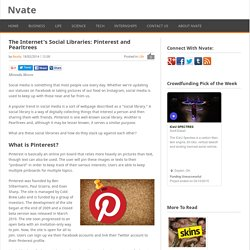 The Internet's Social Libraries: Pinterest and Pearltrees