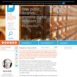 How public libraries promote digital inclusion - The Digital Post