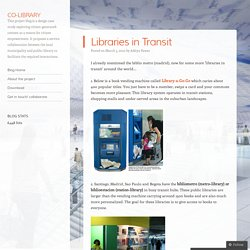 Libraries in Transit