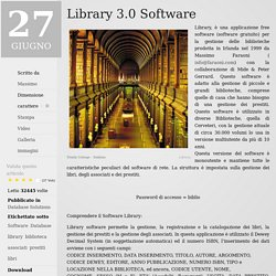Library 3.0 Software