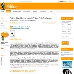 Poker bot c#