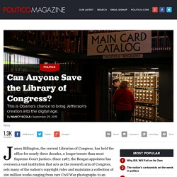 Library of Congress: Can the LOC be saved?