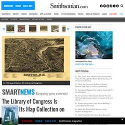 The Library of Congress Is Putting Its Map Collection on the Map