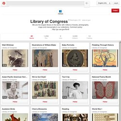 Library of Congress on Pinterest