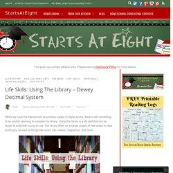 Life Skills: Using The Library - Dewey Decimal System - StartsAtEight