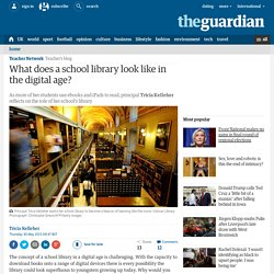 What does a school library look like in the digital age?
