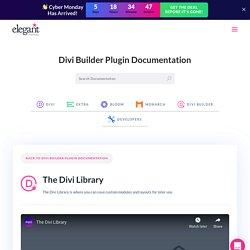 Elegant Themes Documentation